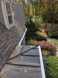 Aluminum gutter guards for your home